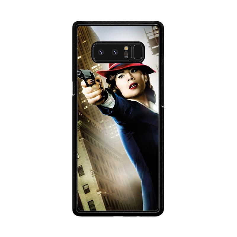 Flazzstore Agent Peggy Carter Z1577 Custom Casing for Samsung Galaxy Note8