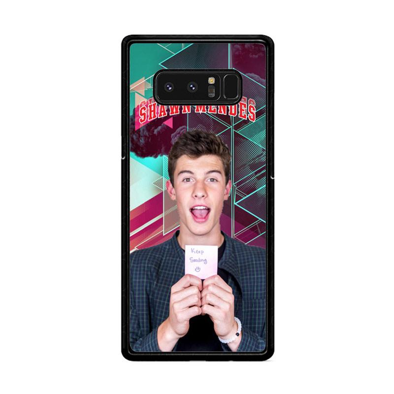 Flazzstore Shawn Mendes Triangle Background Z2106 Custom Casing for Samsung Galaxy Note 8