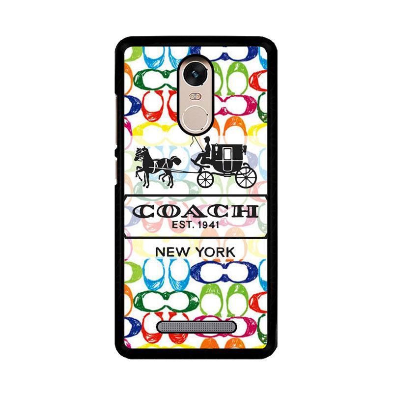 Flazzstore Coach Pattern Logo Z4276 Custom Casing for Xiaomi Redmi Note 3 or Note 3 Pro