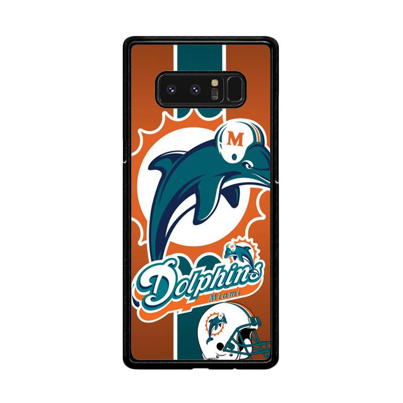 Flazzstore Miami Dolphins Z2995 Custom Casing for Samsung Galaxy Note 8