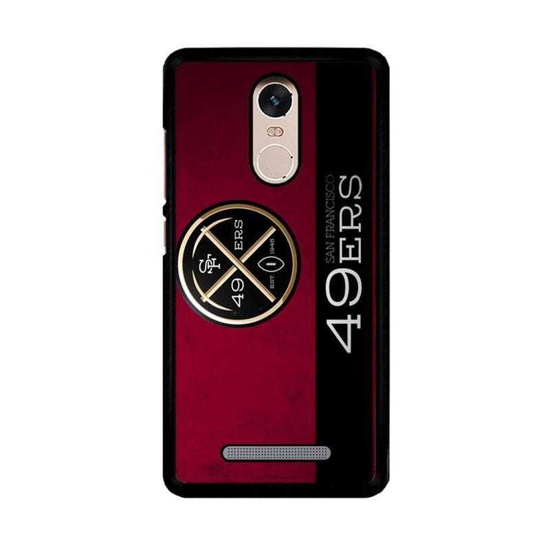 Flazzstore 49Ers Logo Z4472 Custom Casing for Xiaomi Redmi Note 3 or Xiaomi Redmi Note 3 Pro
