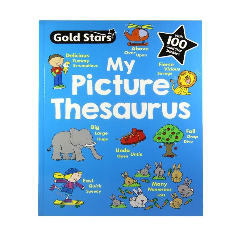 Parragon Books My Picture Thesaurus Buku Anak