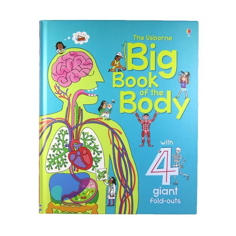 Usborne Books Big Book of The Body by Minna Lacey Buku Anak