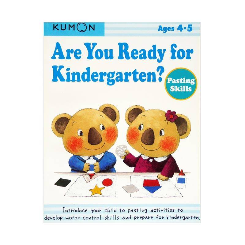 KUMON Genius Are You Ready for Kindergarten Pasting Skills Buku Anak