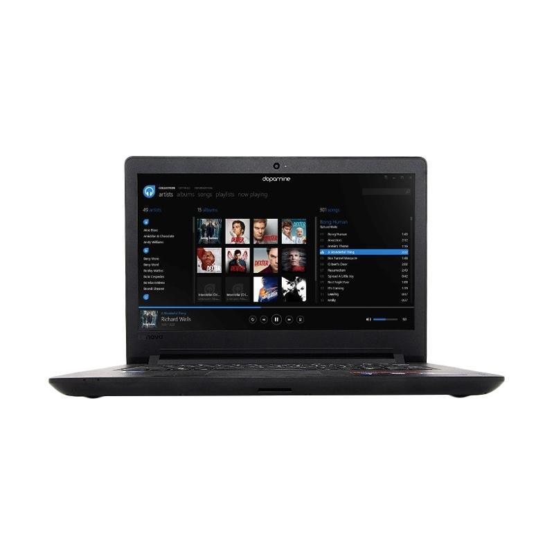 harga Lenovo Ideapad 110-AKID Notebook - Black [N3060/4 GB/1 TB/14 Inch/DOS] Blibli.com