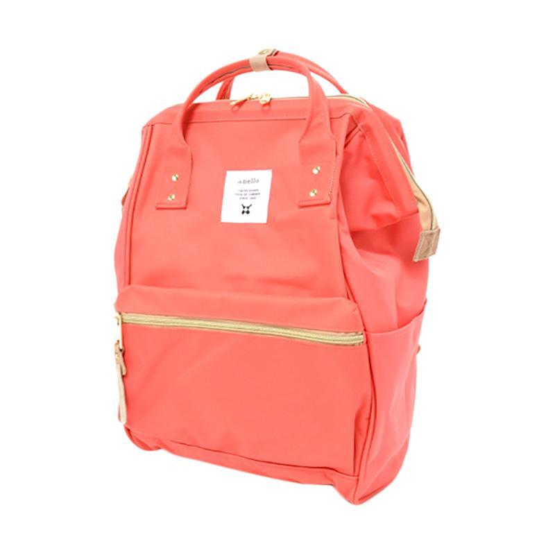 Jual Anello AT-B0193A Polyester Tas Ransel Backpack - Coral Pink Online -  Harga   Kualitas Terjamin  95b6a476f0