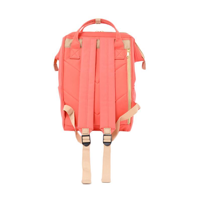 e9940525ab Jual Anello AT-B0193A Polyester Tas Ransel Backpack - Coral Pink Online -  Harga   Kualitas Terjamin