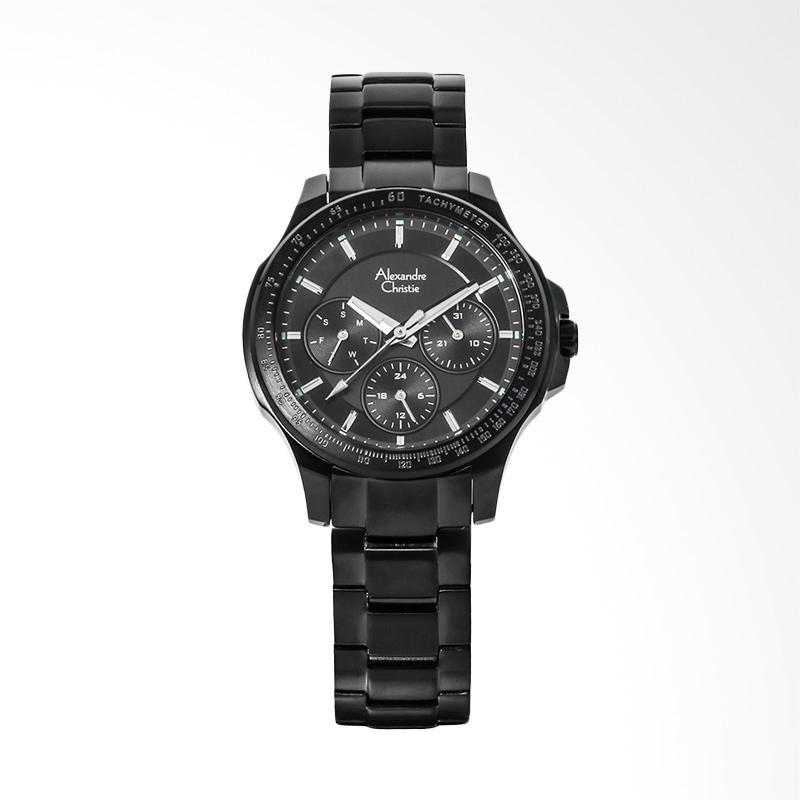 Alexandre Christie AC 6352 BF BIPBA Ladies Jam tangan Wanita - Black