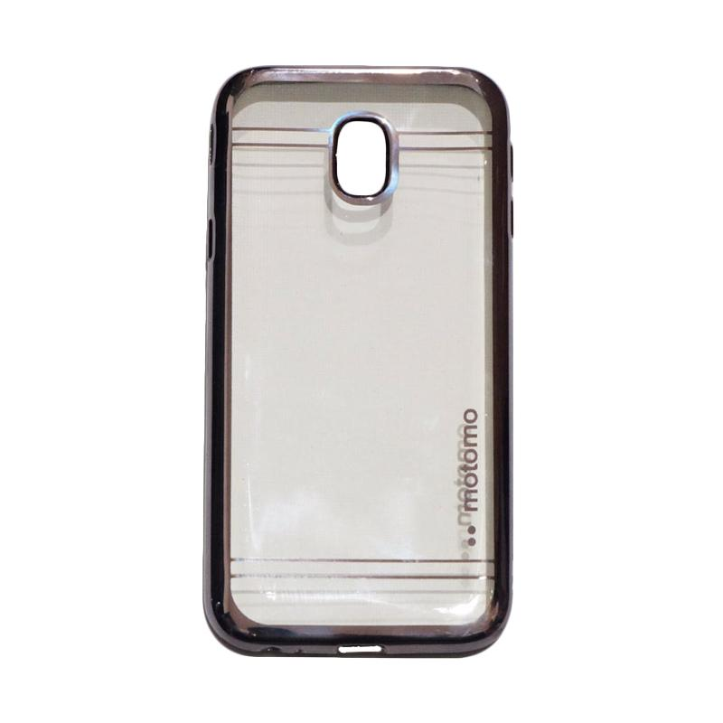 Motomo Softcase Shining Chrome Ultrathin Casing for Samsung Galaxy J3 Pro 2017 J330 - Black