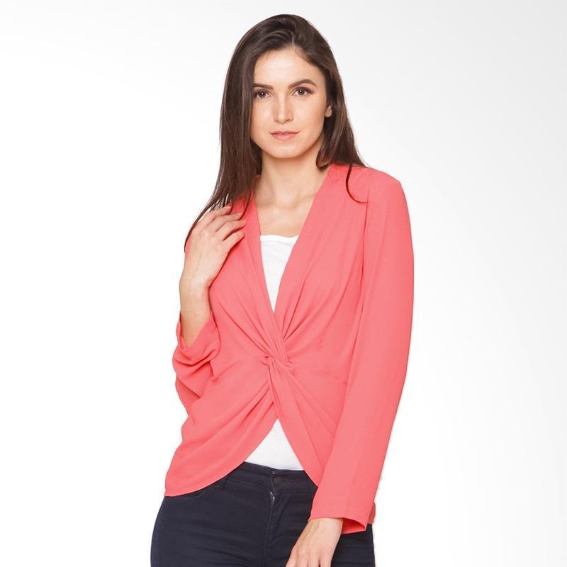 A&D Fashion MS 1032 Ladies Blouse - Coral