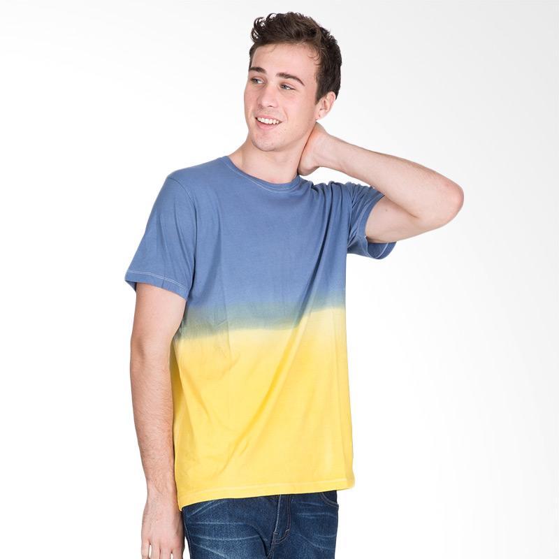 Tendencies T-shirt Blue Yellow Mix DYE