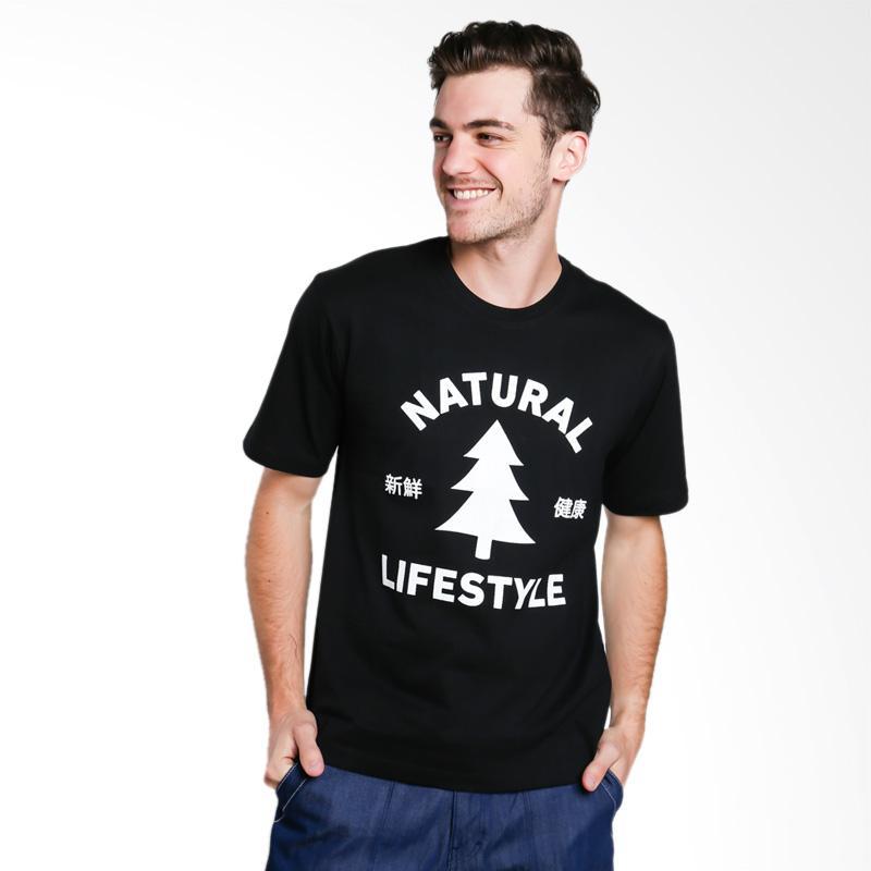 Hypestore Natural T-Shirt Pria [3632-2063]