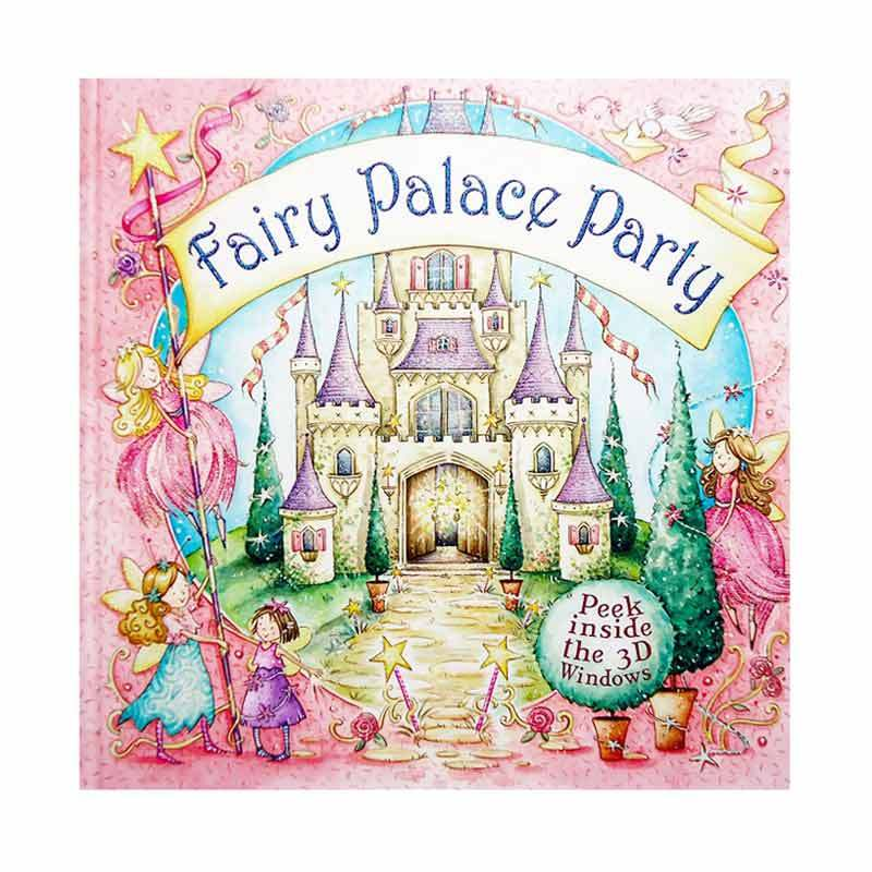 Genius Fairy Palace Party with Peek Inside The 3D Windows Buku Anak