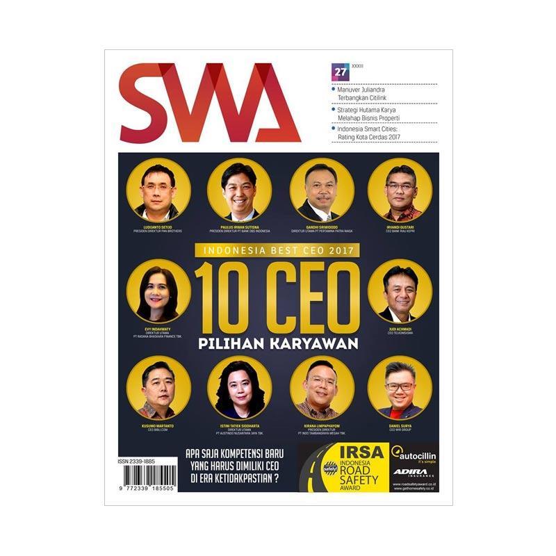 SWA edisi 27-2017 Best CEO 2017 Majalah