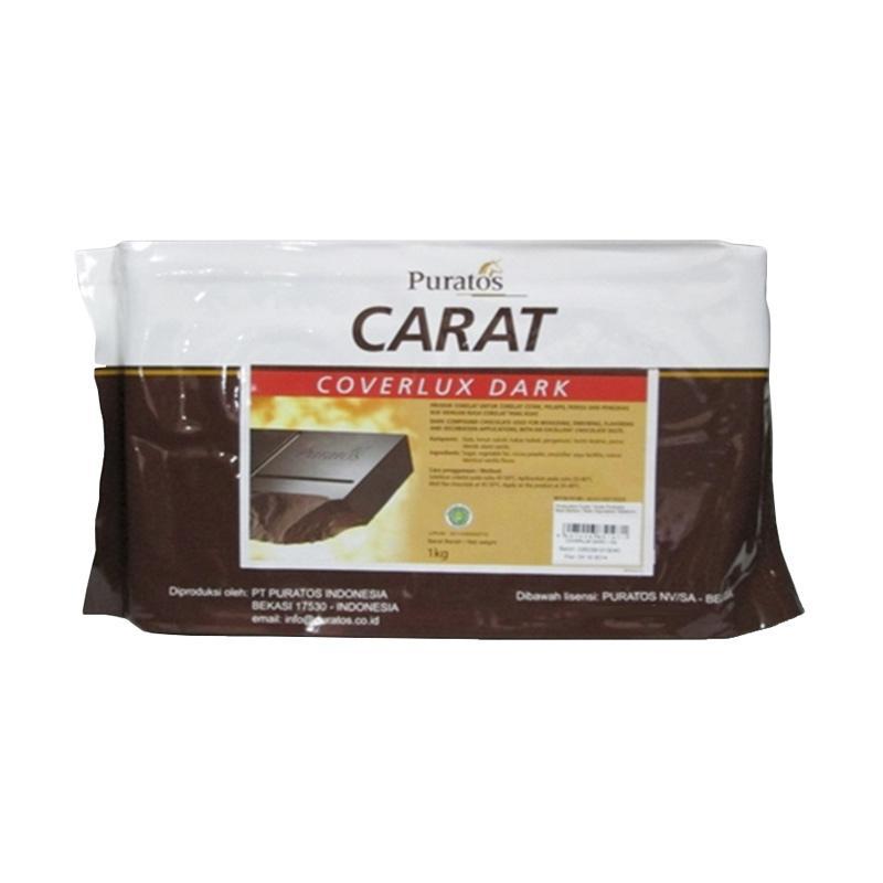 Puratos Carat Coverlux Dark Cokelat [1 kg]