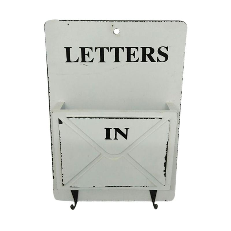 Decora Living Letters Box with Hangers