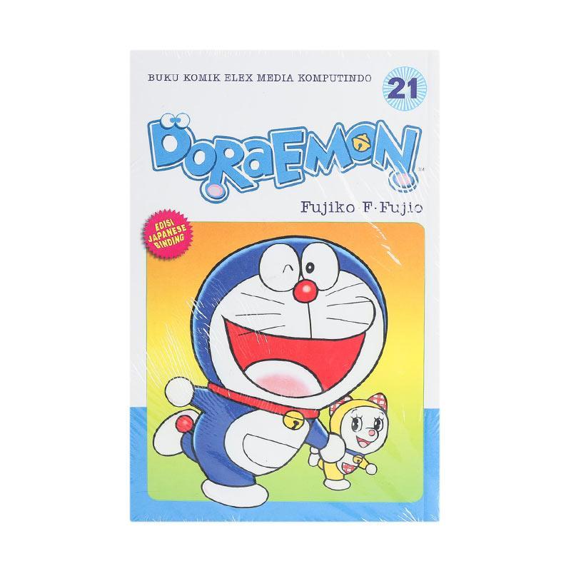 Elex Media Komputindo Doraemon 21 200008698 by Fujiko F. Fujio Buku Komik
