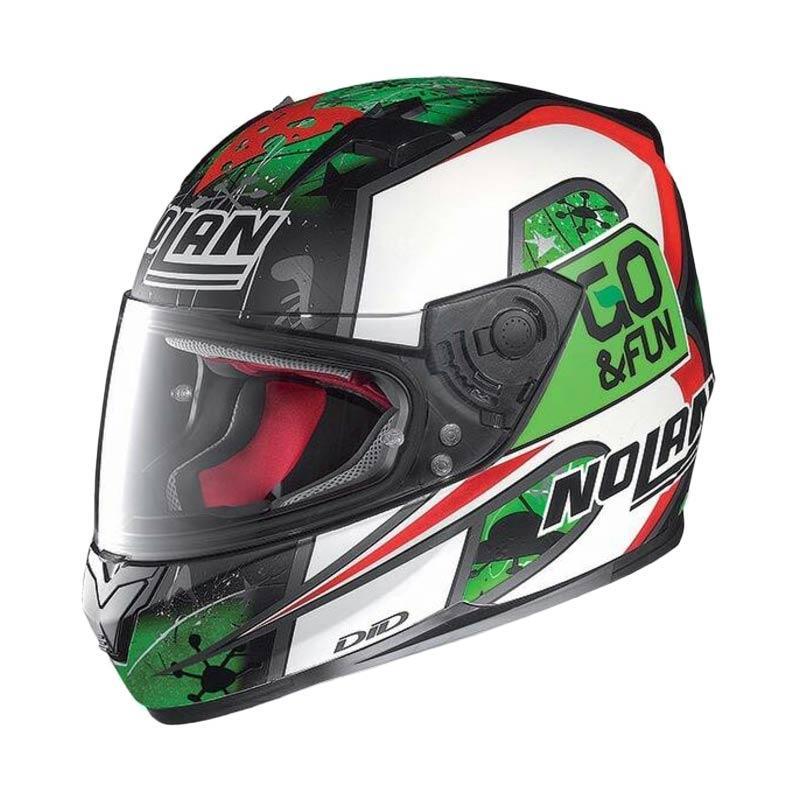 harga Nolan N64 Bastianini Helm Full Face - Green Blibli.com