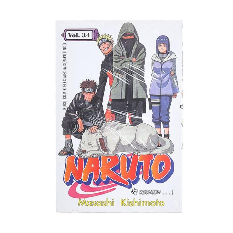 Elex Media Komputindo Naruto 34 200035093 by Masashi Kishimoto Buku Komik