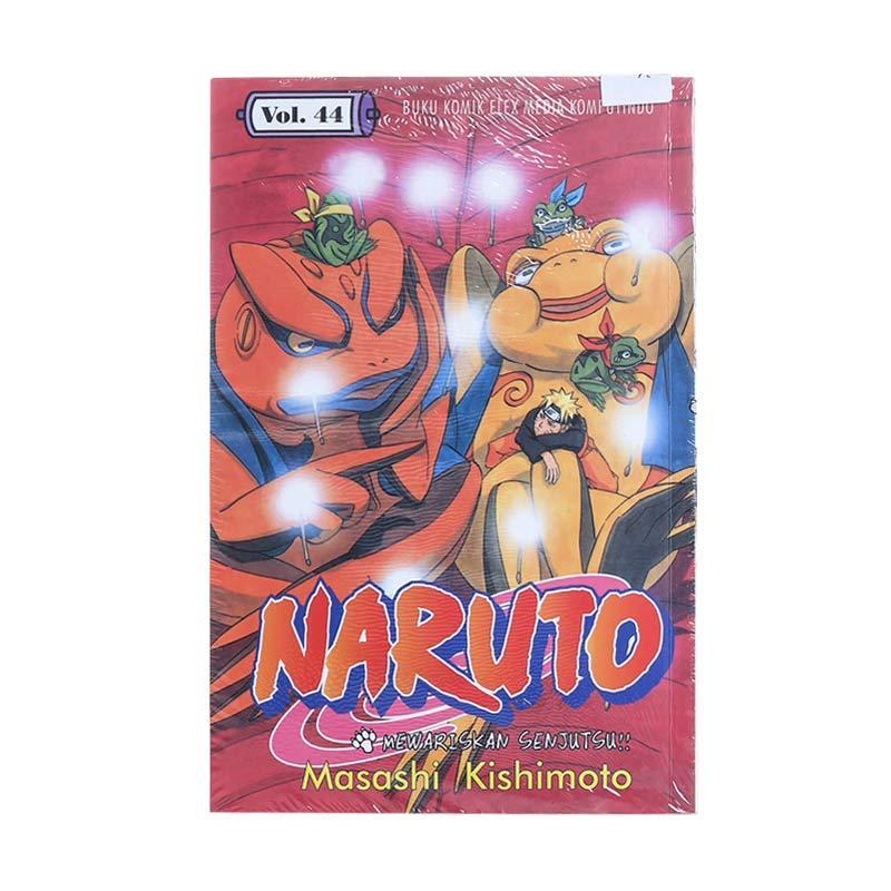 Elex Media Komputindo Naruto 44 200119251 by Masashi Kishimoto Buku Komik