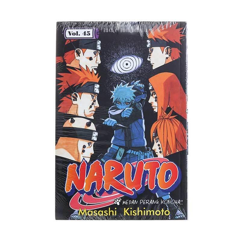 Elex Media Komputindo Naruto 45 200145920 by Masashi Kishimoto Buku Komik