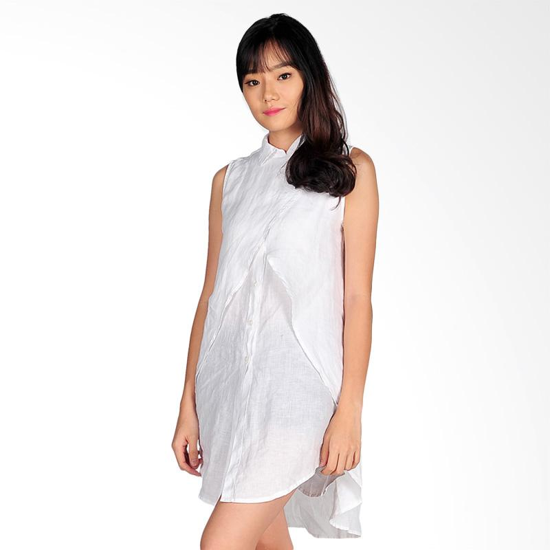 SJO & SIMPAPLY SJO Osera Womens Mini Dress - White