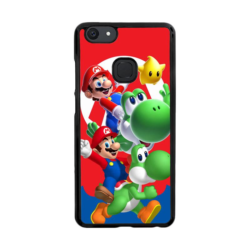 Flazzstore Mario Bros Yoshi Z3461 Custom Casing for Vivo V7