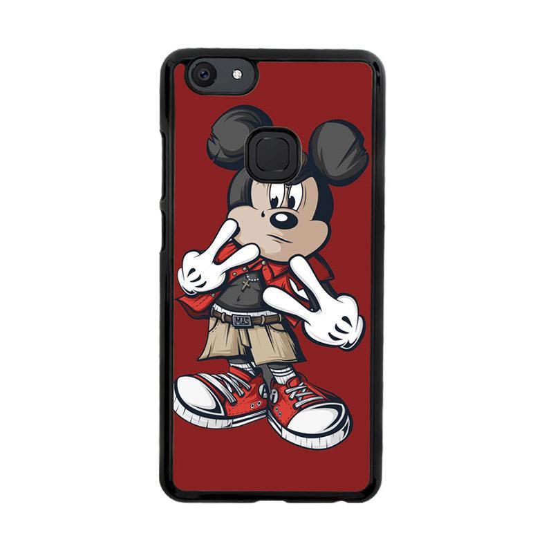 Flazzstore Mickey Mouse O0317 Custom Casing for Vivo V7