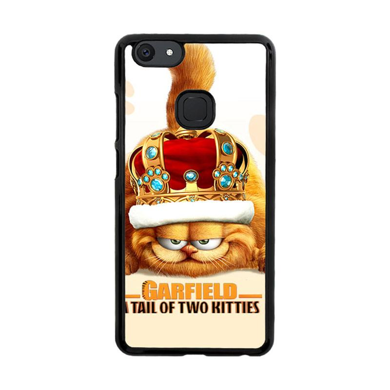 Flazzstore Garfield Tailof Twokitties Wall F0175 Custom Casing for Vivo V7