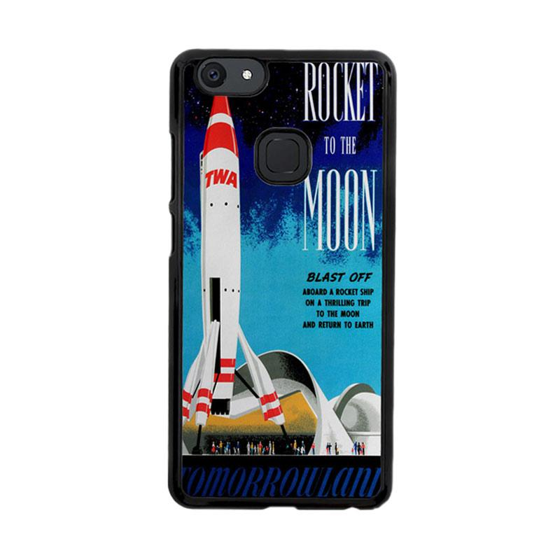 Flazzstore Disney Tomorrowland Rocket To The Moon Z0697 Custom Casing for Vivo V7