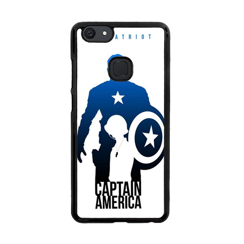 Flazzstore Captain America Avengers Texture Z0716 Custom Casing for Vivo V7