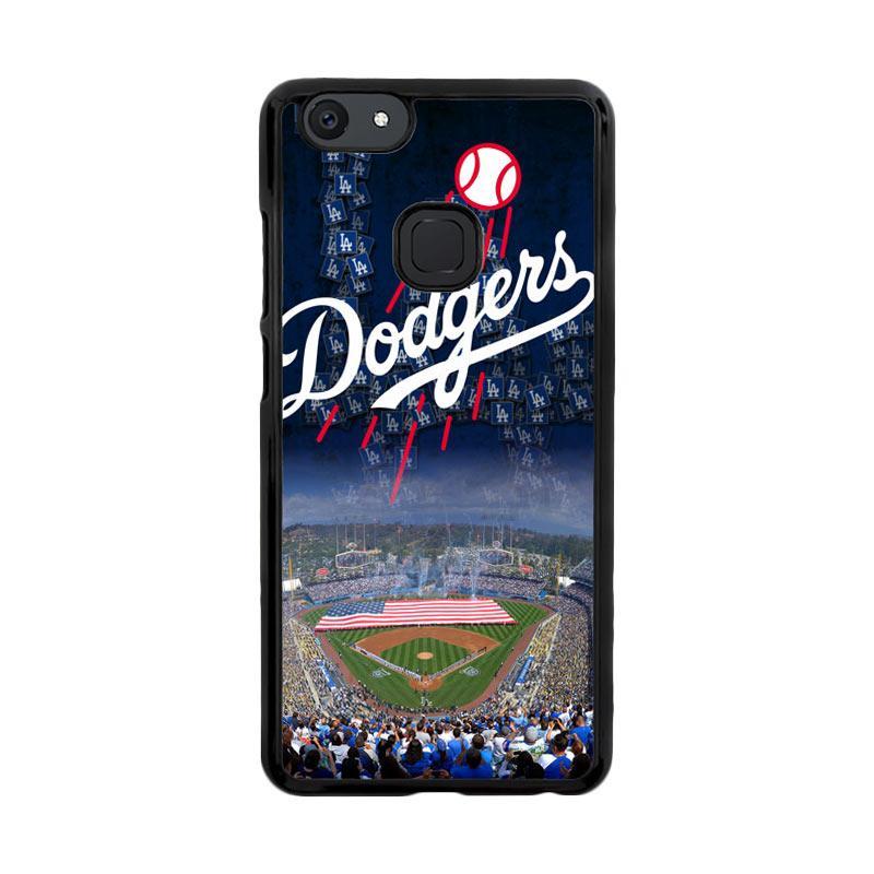 Flazzstore Los Angeles Dodgers X3151 Custom Casing for Vivo V7
