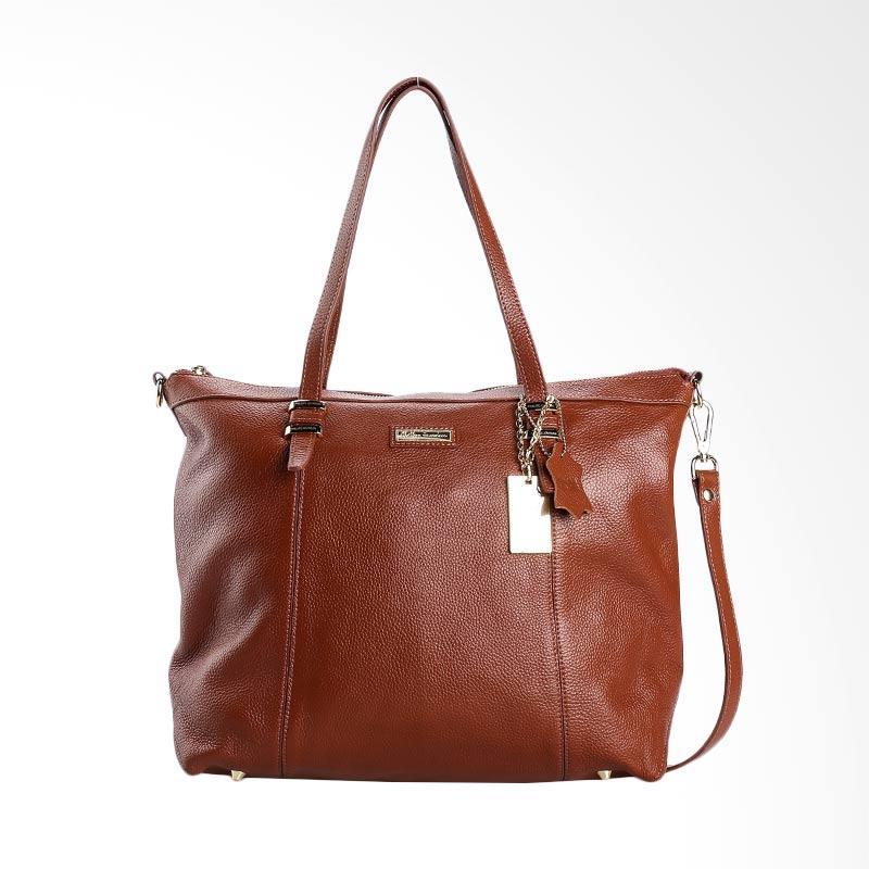 harga Phillipe Jourdan IWL 1702 Clarinda Hand Bag Wanita - Brown Blibli.com