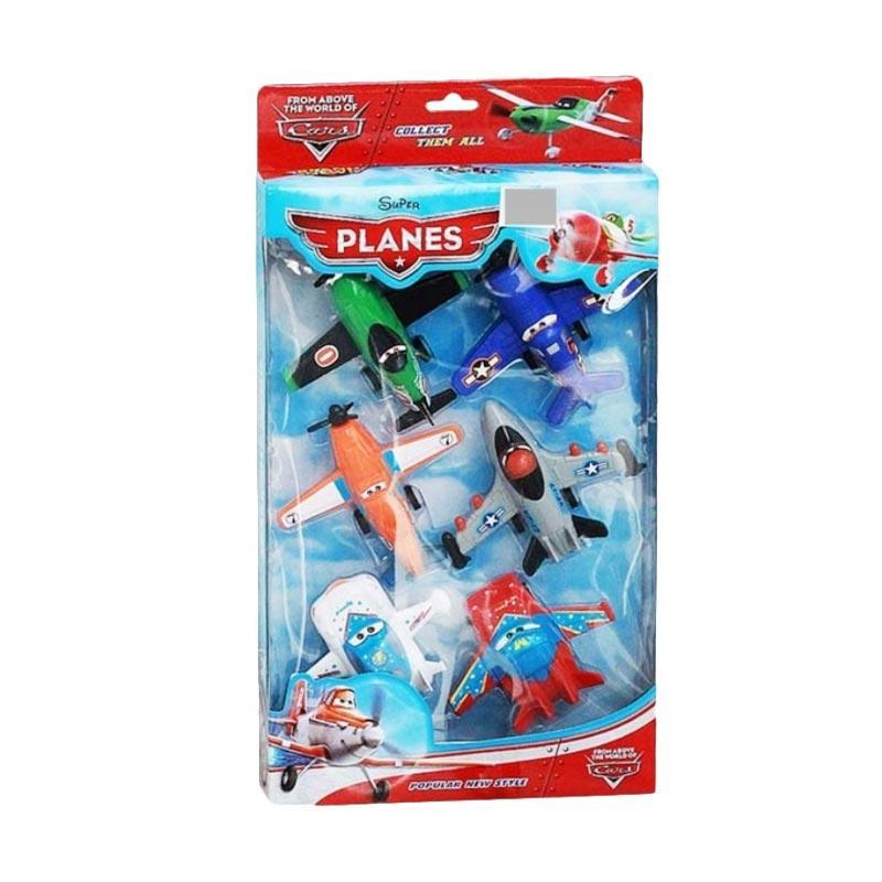 OEM Super Planes Mainan Anak [6 pcs]
