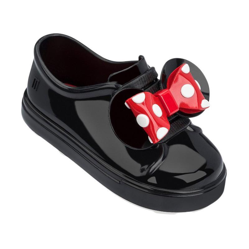 Mini Melissa Be Minnie Bb Sepatu Anak Perempuan Black