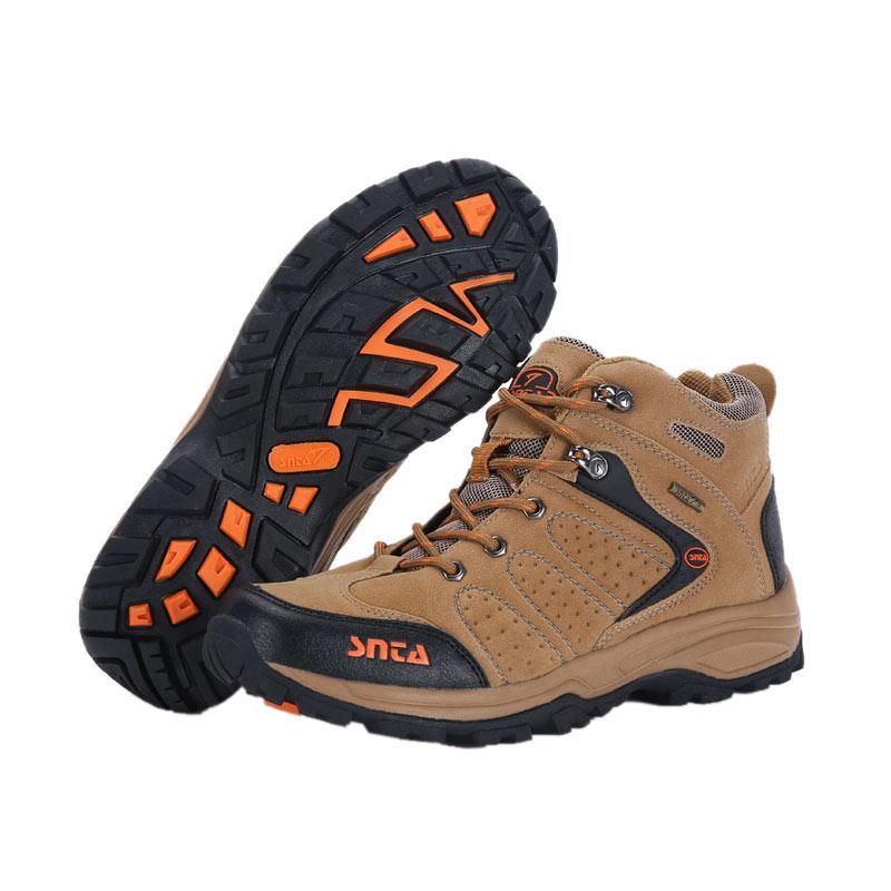 Snta Sepatu Gunung Pria - Brown Orange [482]