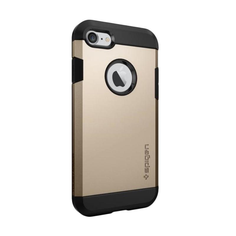 Spigen Tough Armor Casing for iPhone 7 - Champagne Gold [Ori]