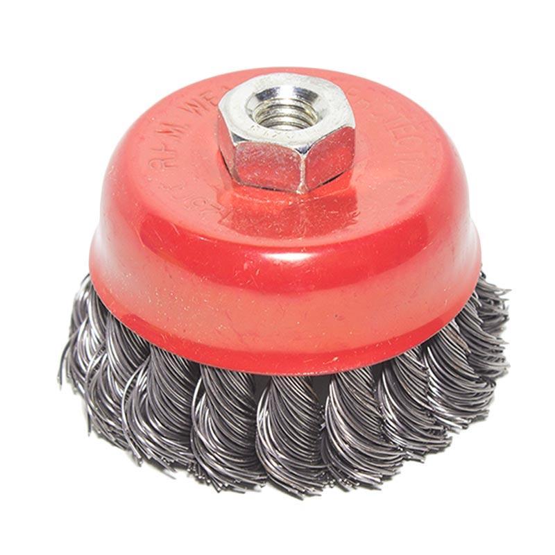 harga Tora TRTWB01 Kepang Twisted Cup Brush Sikat Mangkok [3 Inch] Blibli.com