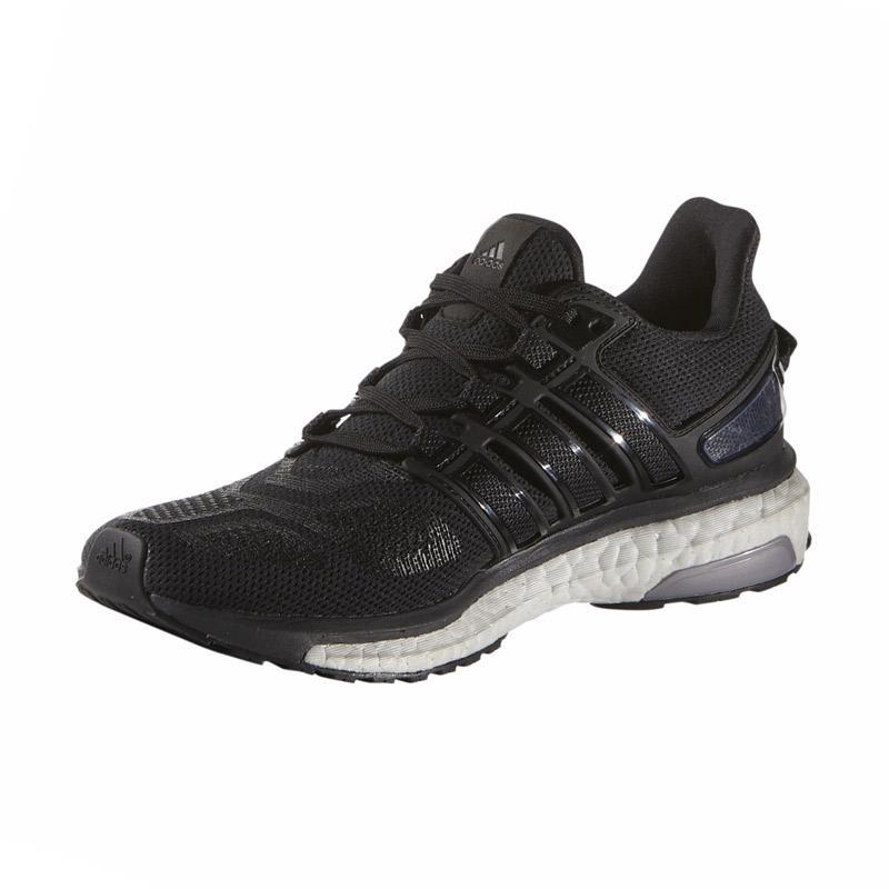 adidas Energy Boost Running Shoes Sepatu Lari Wanita -  Black [3W-AQ1869]