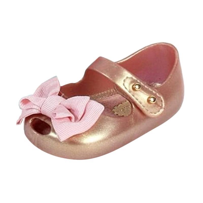 Mini Melissa My First Prewalker Shoes - Rosegold
