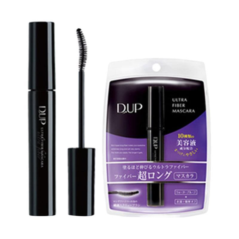 D-UP Ultra Fiber Super Long Mascara - Black [6 g]