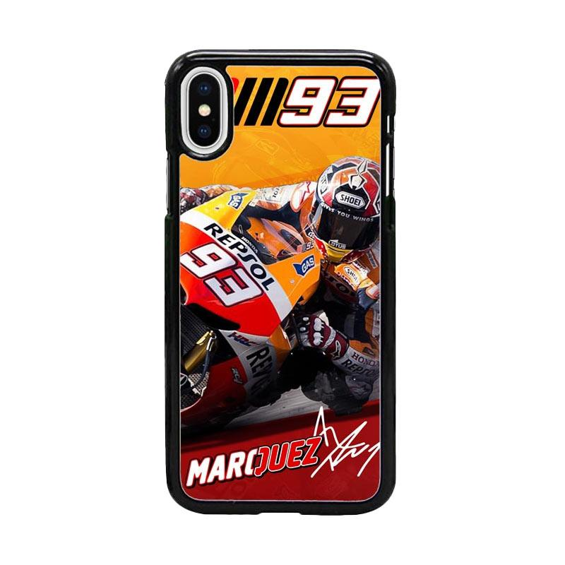 Acc Hp Marc Marquez 93 W4964 Custom Casing for iPhone X