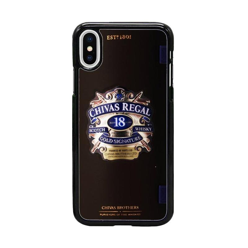 Acc Hp Chivas Regal 18 W4972 Custom Casing for iPhone X