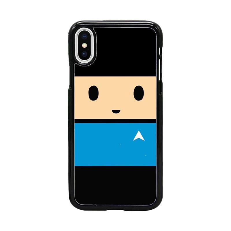 Acc Hp Spock Star Trek W5065 Custom Casing for iPhone X