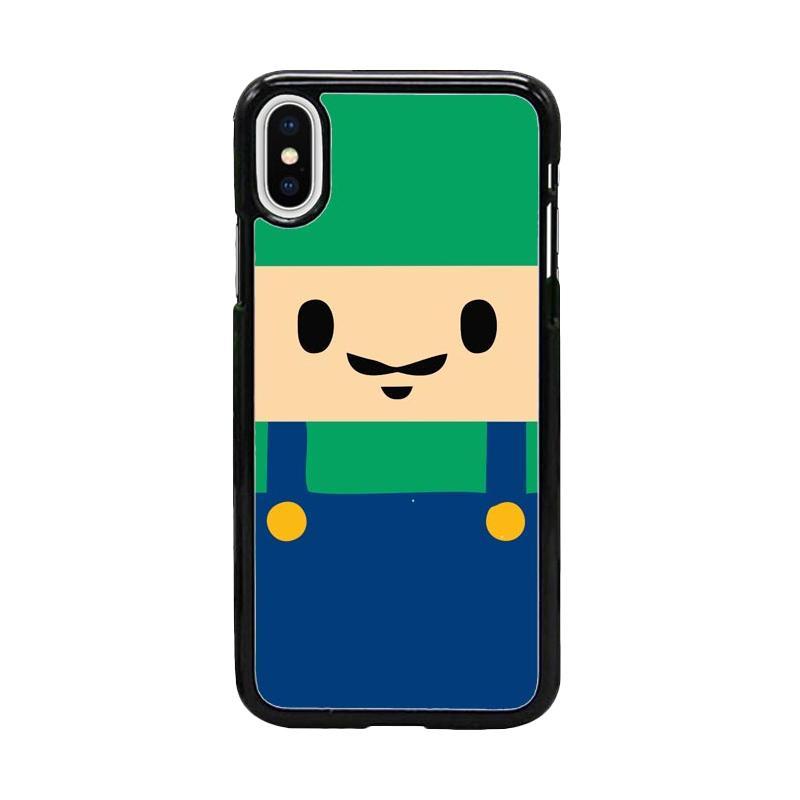 Acc Hp Luigi Mario Bros W5048 Custom Casing for iPhone X