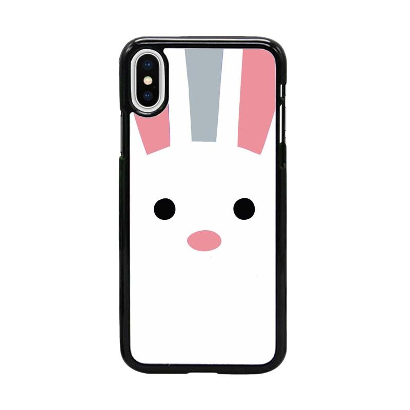 Acc Hp Rabbit Invasion Face W5057 Custom Casing for iPhone X