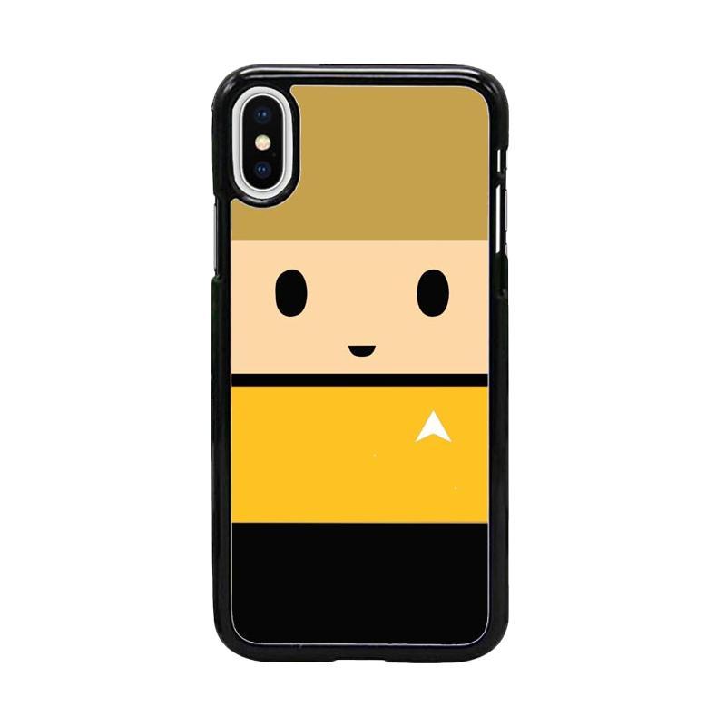 Acc Hp Captain Kirk Star Trek W5037 Custom Casing for iPhone X