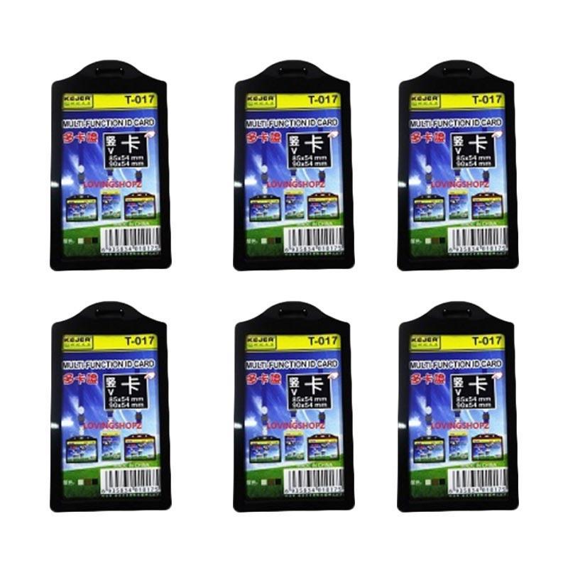 harga Loving Shopz ID Card Holder - Hitam Blibli.com