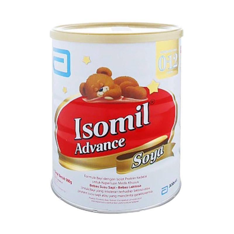 Isomil Advance Soya Susu Formula [850 g/ 0-12 Bulan]