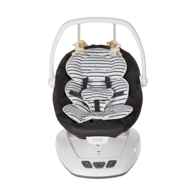 Birds N Bees Graco Move with Me Breeton Stripe Baby Swing